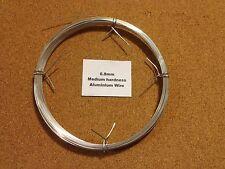 0.8mm x 20m Aluminium Wire Floristry Craft Jewellery Making Bonsai Training