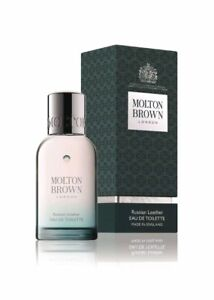 Molton-Brown-Eau-de-Toilette-Russian-Leather-50ml-NEW