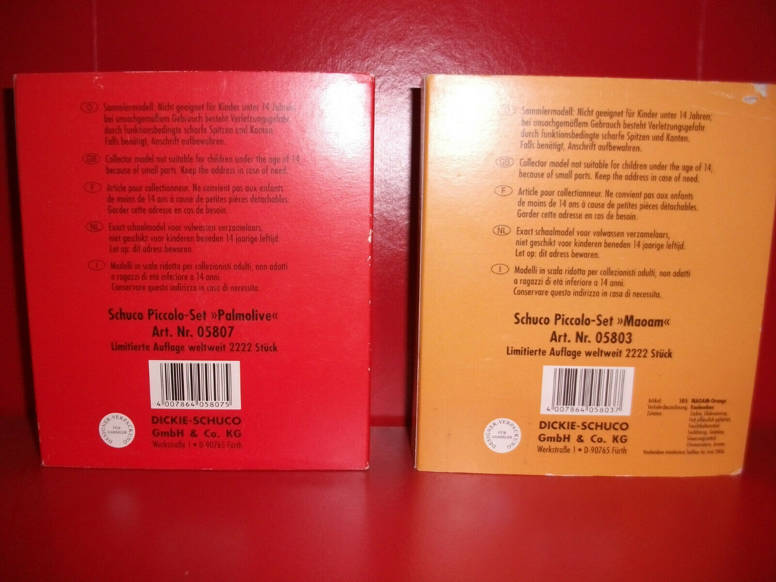Schuco piccolo 05803 + 05807   Neu und und und ovp   Limitierte Auflage 2222 Stk. 9b3d98