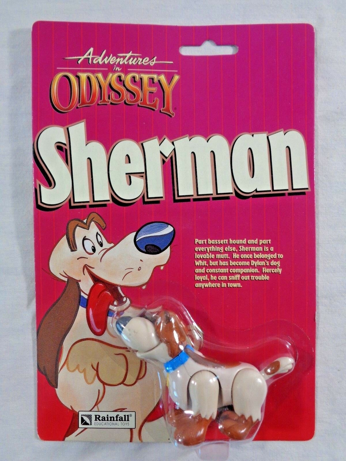 Adventures in Odyssey Sherman Action Figure Rainfall Toys Focus on the Family MO