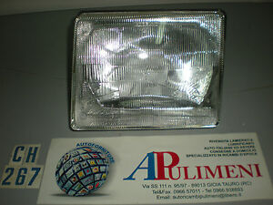 FARO PROIETTORE (HEAD LAMPS) FIAT UNO TURBO IE MK1 83>89 H4 CARELLO