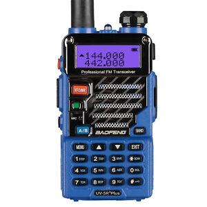 Baofeng-UV-5R-Plus-Qualette-Bleu-Dual-Band-VHF-UHF-FM-Emisora-Transceptor-EU-DHL
