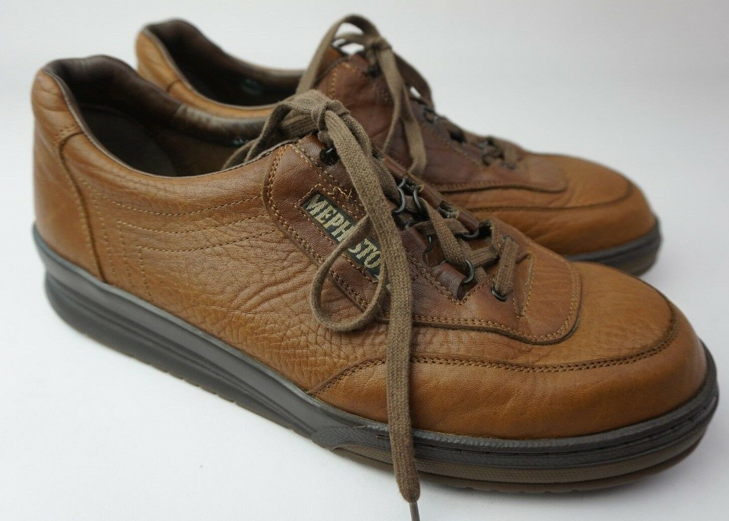Mephisto Match Men's Walking shoes Brown Full Grain Leather Size US 11