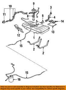 Fabulous Chevrolet Gm Oem 91 96 Caprice 5 7L V8 Fuel System Fuel Pump Gasket Wiring 101 Eumquscobadownsetwise Assnl