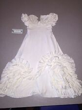 NWT CHASING FIREFLIES PIXIE GIRL BY VICKI SIGG SWIRL RUFFLE DRESS SIZE 3T 3