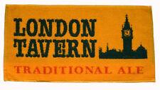 LONDON TAVERN TRADITIONAL ALE Pub Beer BAR TOWEL