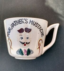 your father s mustache coffee mug cup with mustache guard ceramic ebay