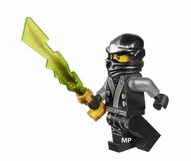 70502 NEW 2013 Series No Box Lego Ninjago Kimono Cole /& Earth Elemental Sword