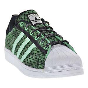 Adidas Superstar GID GLOW In The Dark Green Black White Shoes ...