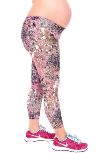 $62 Maternity Yoga Capri Legging Under Belly Pant Brazilian Clothes XS-S-M-L
