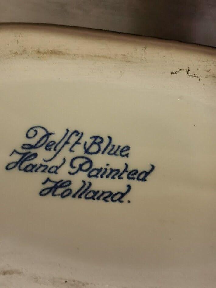Fajance, Delft Blue snapsedunk, dramflaske