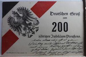 AK-Deutschland-200-jahrigen-Jubilaeum-Preussen-1901-gebraucht-PE582