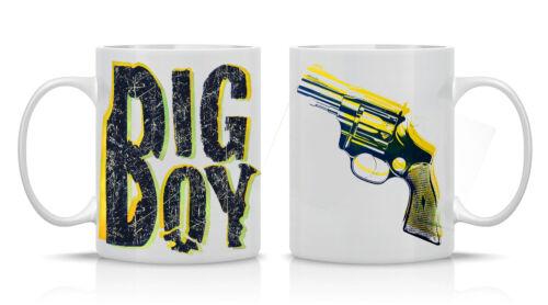Mug Nice Cadeau Personnalisé Imprimé Cadeau Pour Toute Occasion environ 311.84 g Big Boy Gun 11 Oz