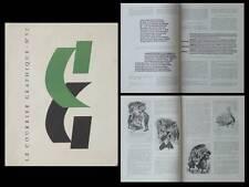 LE COURRIER GRAPHIQUE n°52 1951 JEAN DEVILLE, COSTER, GUTENBERG, TYPOGRAPHIE