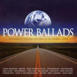 POWER-BALLADS-Greatest-Driving-Anthems-Ever-2xCD-2003-Queen-REM-Bangles-Myles