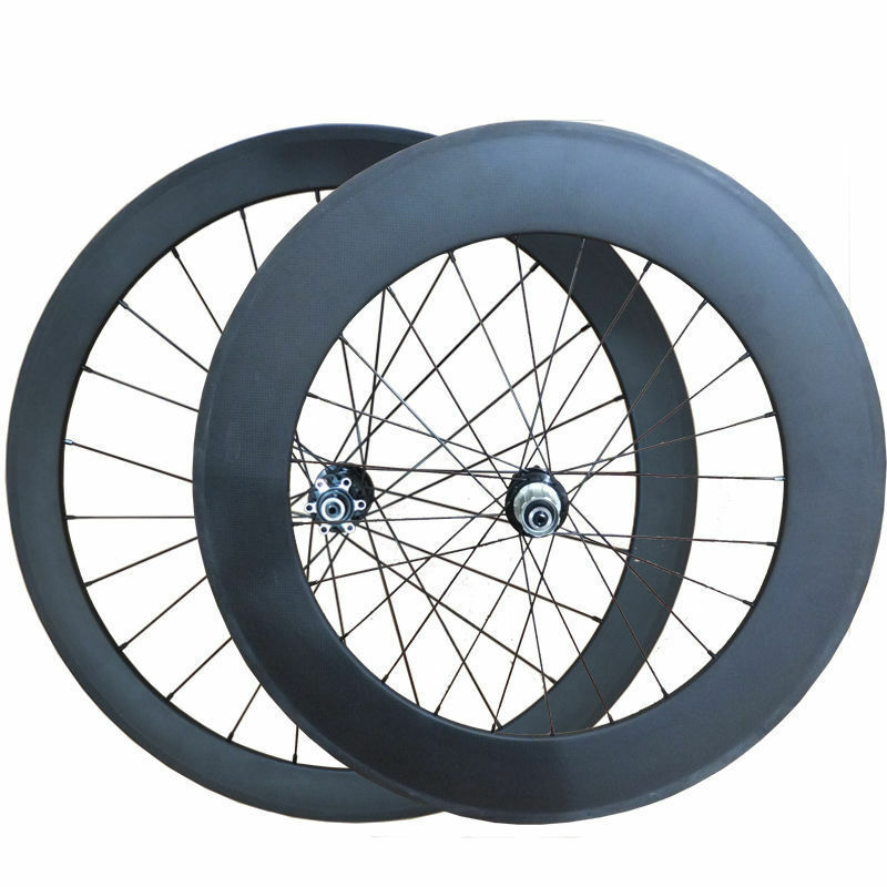 50mm 88mm clincher carbon road bike front &rearWheels Cyclocross DiscBrake Wheel