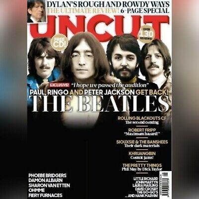 Uk Uncut Magazine August 2020 The Beatles Paul Mccartney Ringo Starr Free Cd Ebay