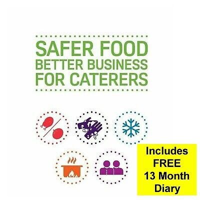 Updated 2020 Safer Food Better Business /& 13 Month Diary Spiral Bound