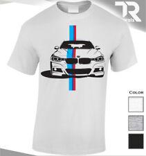 NEW 2019 BMW T SHIRT M M3 M5 BACK \ FRONT PRINT HQ  RACE CAR SHIRT SPORT CAR