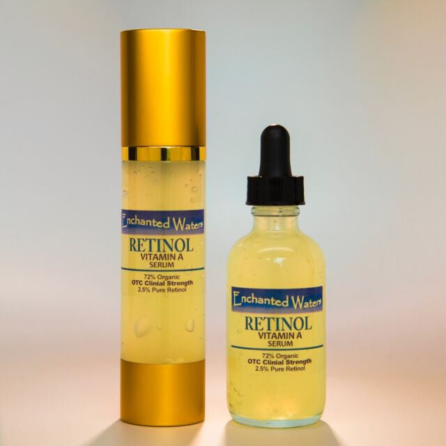 PURE RETINOL VITAMIN A 2.5% + HYALURONIC ACID - RETINOL WRINKLE CREAM / SERUM