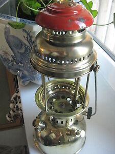 Antique German Kerosene Lantern Gas Lamp Petromax Rapid