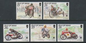 Isle-von-Mann-1991-Tt-Mountain-Course-Set-MNH-Sg-478-82