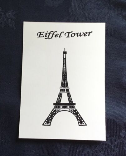 Eiffel Tower//Statue of Liberty//Golden Gate Bridge//Clear //UNMOUNTED//stamp //SET
