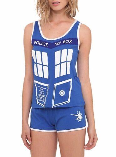 Doctor Who Tardis Police Box Her Universe Junior Sleep Set