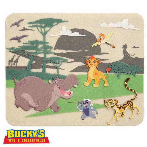 Disney Lion Guard Felt Kit Kion Ono Bunga Beshte Fuli Family Crafts