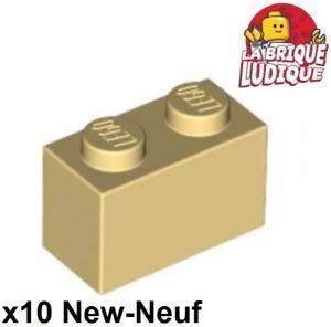 10x Brique Brick Modified 1x2 log palisade noir//black 30136 NEUF Lego