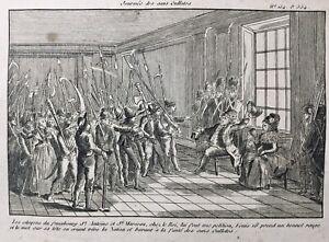 Marie-Antoinette-et-Louis-16-1792-Sans-Culotte-Gravure-Revolution-Francaise