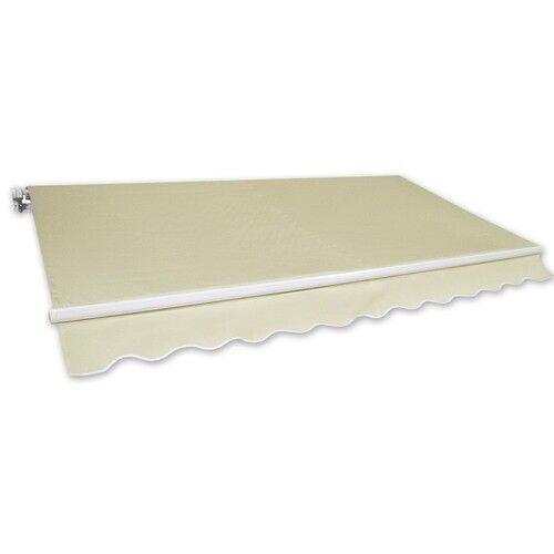 Markise Gelenkarmmarkise Alu-Markise 3x2,5m beige Sonnenschutz NEU