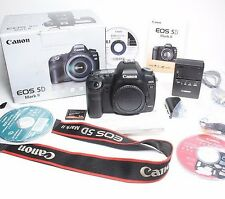 Canon EOS 5D Mark II Digital SLR Camera (Body Only) USA Model Excellent Low Shut