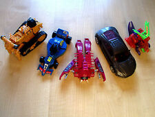 Transformers lot of 5 Sideways Rampage and 3 rare figures Movie ROTF pack