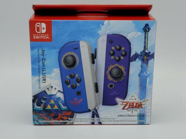 Nintendo Switch Joy-Con L/R Legend of Zelda Skyward Sword HD Edition Ships Fast