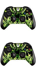 Cannabis 2 Stück Supply Xbox One Controller Skin Foils Aufkleber Schutzfolie Set