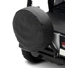 "Jeep CJ Wrangler YJ TJ JK Spare Tire Cover Black Diamond 33-35"" Sittybilt 773535"