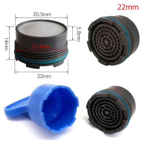 Details about  /16.5-24mm Thread Water Saving Tap Aerator Bubble Kitchen Faucet Accessor Pwnh5
