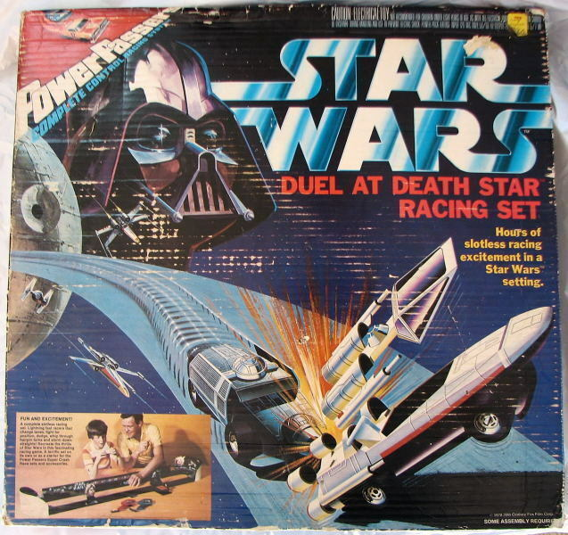 Estrella Wars Power los publicos Duelo A Muerte Estrella Racing Set 1978 Mib Sin Abrir Raro
