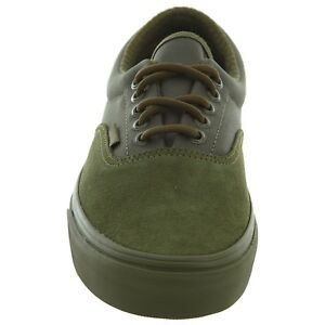 buy popular d4649 0ecbf Details about Vans ERA (MILITARY MONO) Winter Moss GREEN SUEDE CANVAS MEN  SKATE SHOES