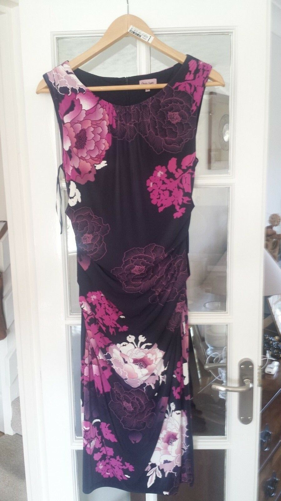 PHASE EIGHT LADIES FLORAL DRESS NAVY SIZE 10