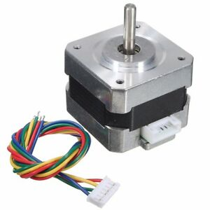 NEMA-17-Stepper-motor-12V-For-CNC-Reprap-3D-printer-extruder-36oz-in-26Ncm-0-4A