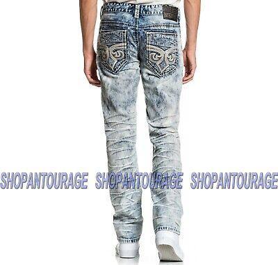 Affliction Gage Relent Fletch 110SK057 New Skinny Cut Leg Denim Jeans For Men