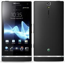"New 4.3"" Sony Ericsson Xperia SL LT26ii Unlocked 32GB GPS 12MP Cell Phone Black"