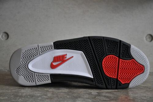 fuego Retro Nike Rojo Cement tech Air Og Gris white Blanco negro 4 Jordan arYZqwtY