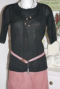 4 Noa Black 3 Arm Wool Blend Pullover Over Size Neu Xl Taglia wwqOxCrRE