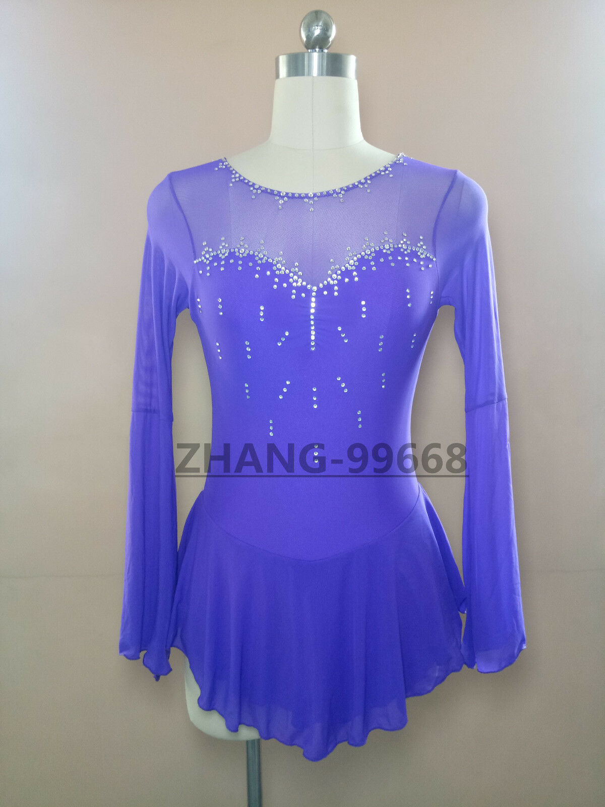 New Ice Figure Skating Dress Baton Twirling Dress For Competitio