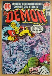 The-DEMON-13-1973-DC-Comics-LOW-GRADE-Comic-Book