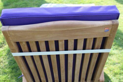 Garden Furniture Cushion Cushion for Garden Steamer Chair In Purple