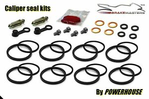 Kawasaki-ZZR-600-D-Sello-Pinza-de-Freno-Frontal-Kit-Reparacion-1990-1991-Zx600